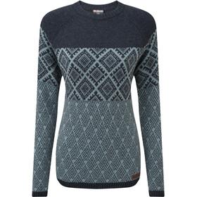 Sherpa Amdo Rundhals-Sweater Damen rathee green